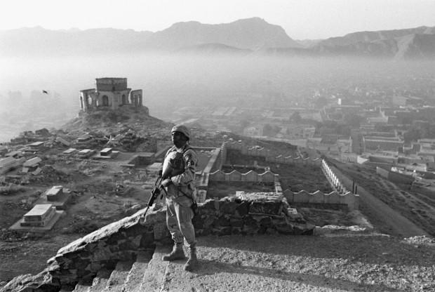 Soldat Américain à Kaboul © Abbas