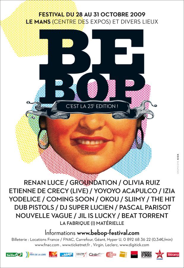 Festival bebop 2009 - Affiche
