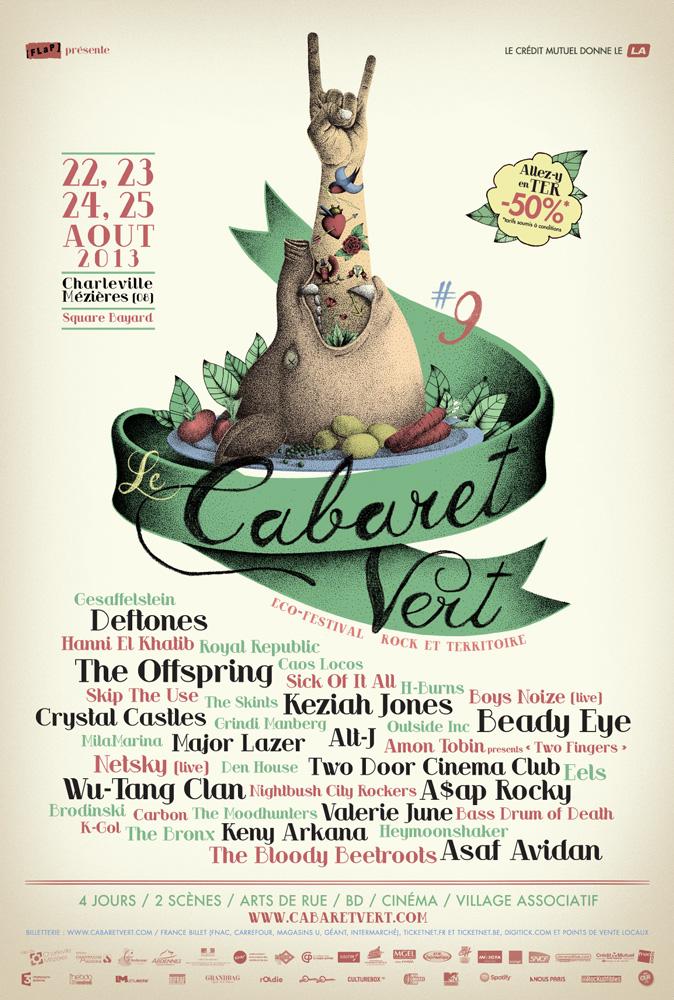 le festival qu u2019il ne fallait pas manquer   le cabaret vert 2013