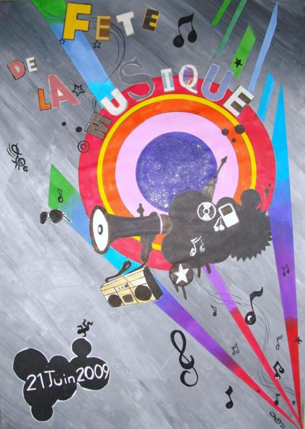 Affiche fete de la musique 2009