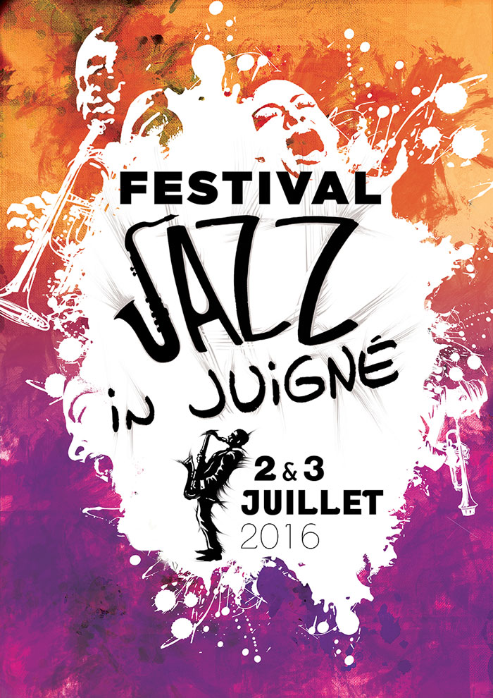 Affiche jazz in juigne 2016