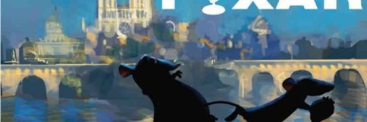 Affiche pixar ratatouille 2