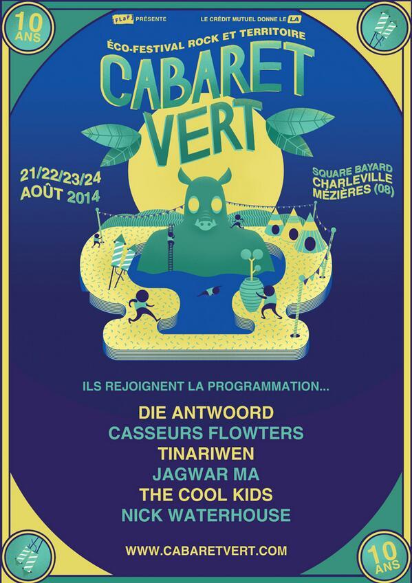 Cabaret vert 2014