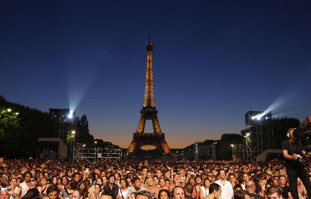 Champs de mars un grand concert