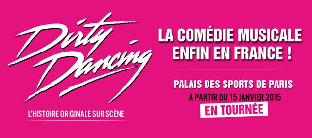 Dirty dancing musical palais des congres