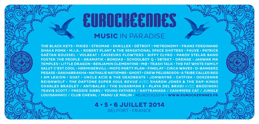 Eurockeennes 2