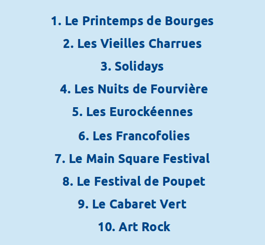 Festivalfrancais