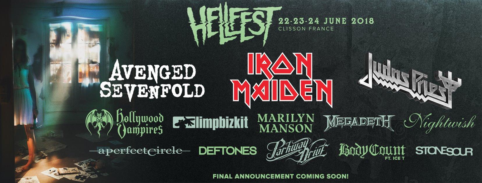 Hellfest 2018 bandeau