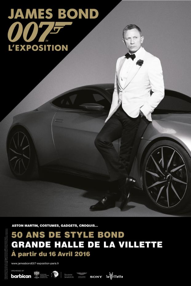 James bond 007 l exposition