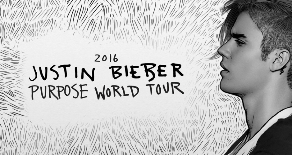 Justin bieber purpose world tour 20161