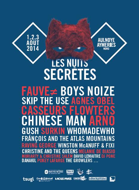 Les nuits secretes 2014