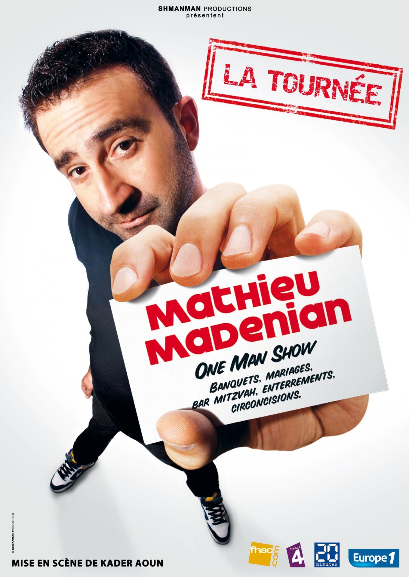 Mathieu madenian la tournee