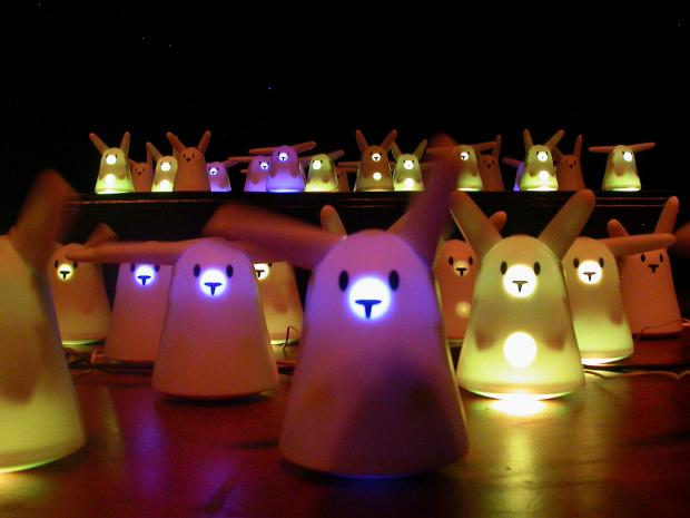 nabazmob : Opéra par 100 lapins nabaztag