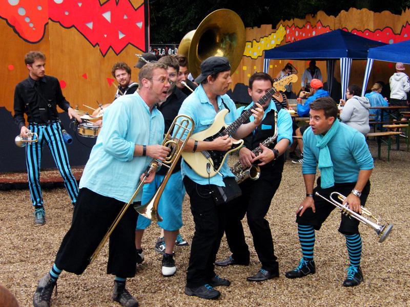 Orchestre ambulant Cabaret Vert
