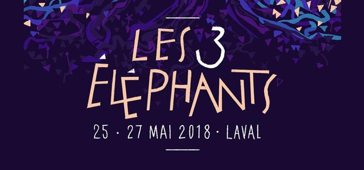 Les 3 Éléphants 2018
