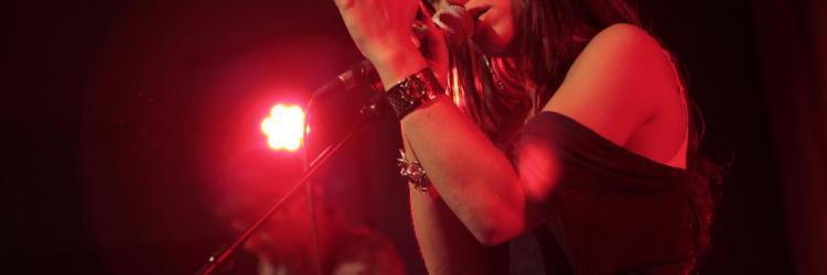 Audrey Lavergne en concert