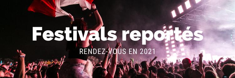 Ces festivals reportes