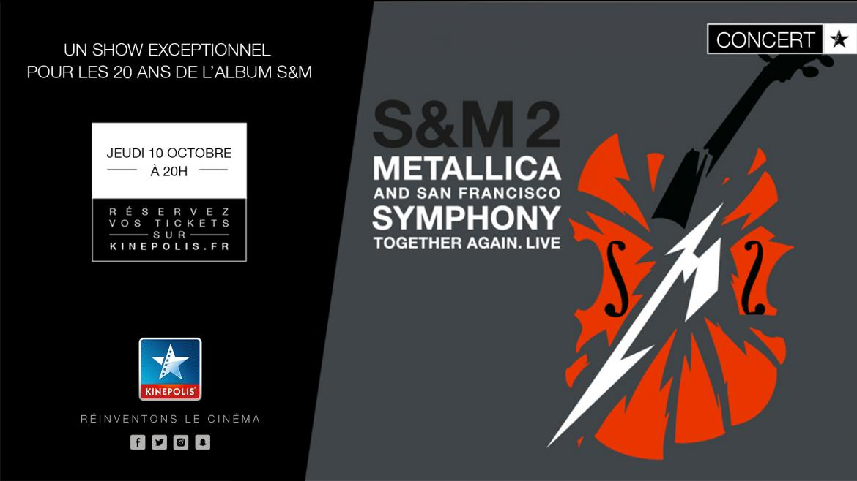 Concert metallica sidilargeur