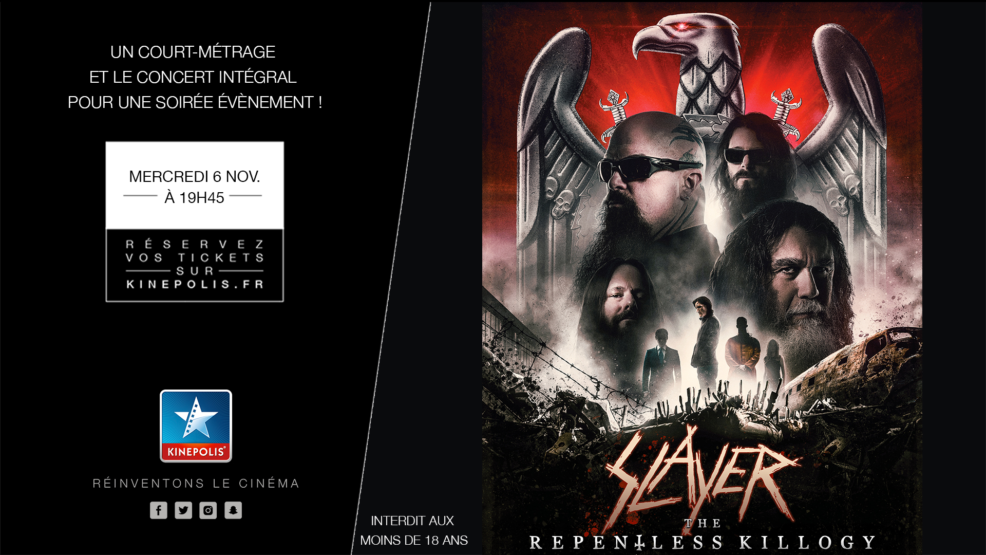 Concert slayer sidilargeur