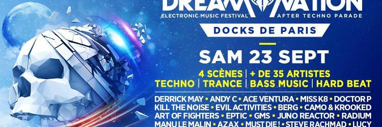 Dream nation festival after techno parade