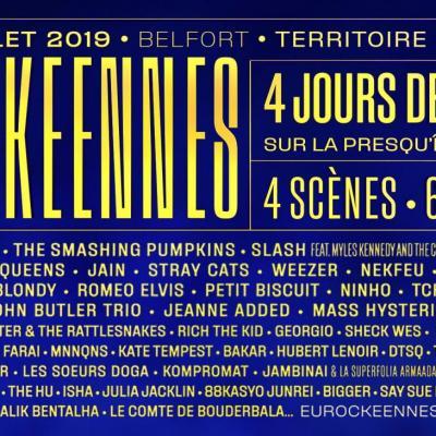 Eurockeennes 2019 ban