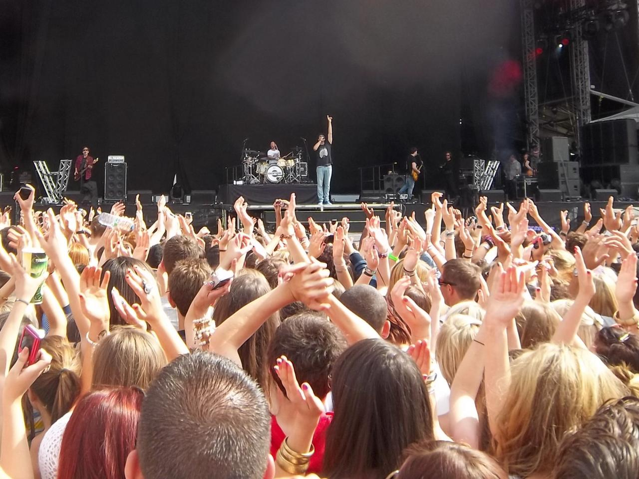 Example at wireless festival 2011