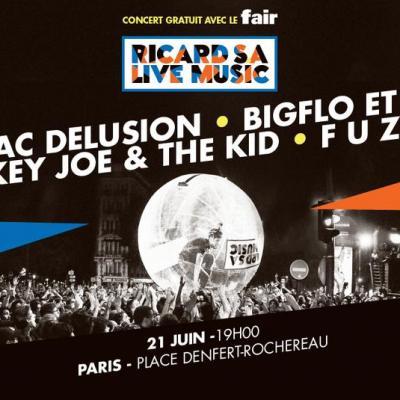 Fdlm ricard S.A. Live Music