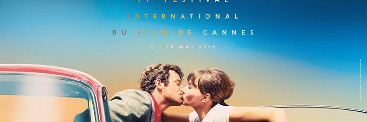 Festival de cannes 2018 © Maquette : Flore Maquin - Photo : Pierrot le fou © Georges Pierre