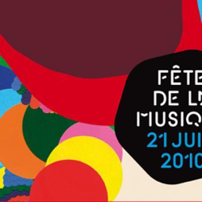 Fete de la musique affiche 2008