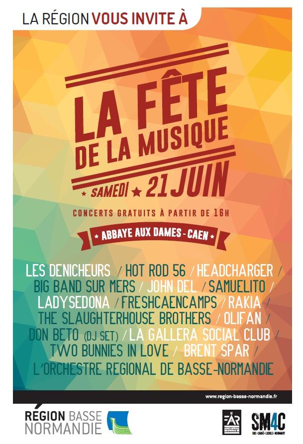 Fete de la musique Abbaye aux Dames 2014