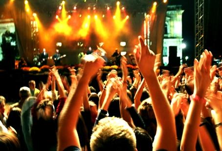 Foule concert fete de la musique 2011