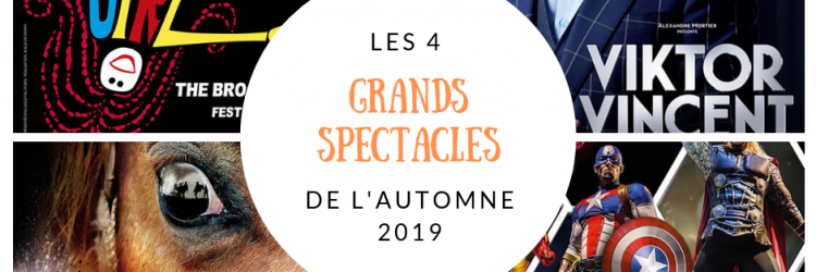 Grands spectacles automne 2019