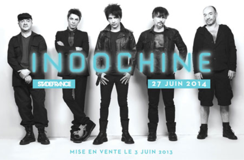 Indochine Black City Tour