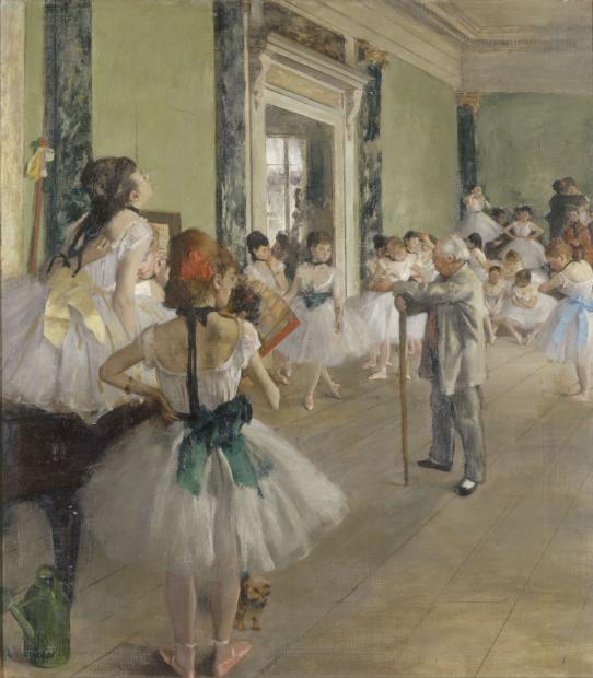La classe de danse edgar degas rmn grand palais musee d orsay herve lewandowski