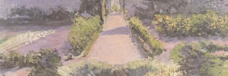 Le jardin potager yerres 1875 1878 caillebotte