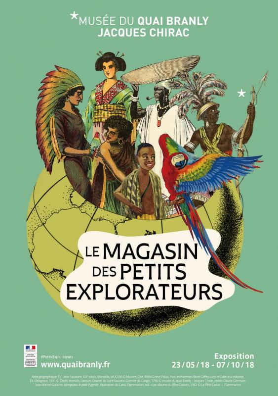 Le magasin des petits explorateurs inuit affiche