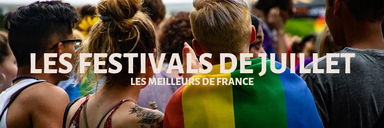 Les festivals de juillet 1