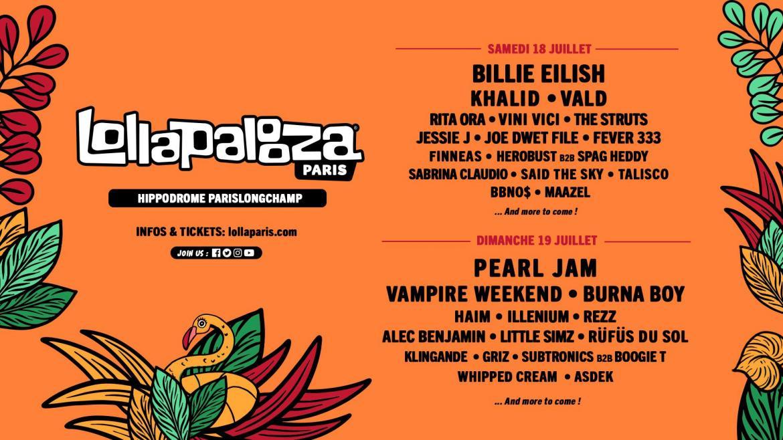 Lollapalooza suite noms ban