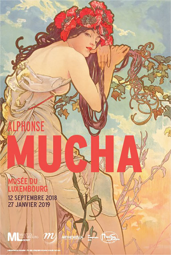 Mucha musee du luxembourg