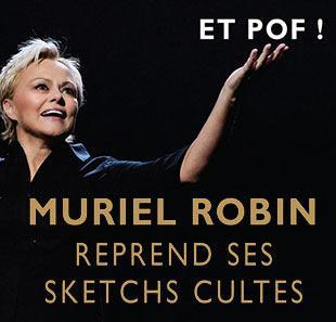Muriel robin et pof carre