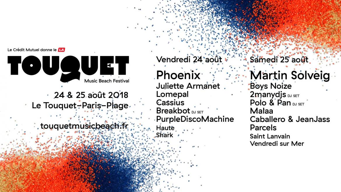 Touquet music beach festival prog